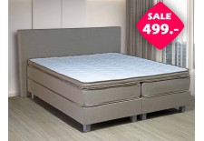 Boxspring OUTLET | Goedkope boxspring CLASSIC nu in de aanbieding!