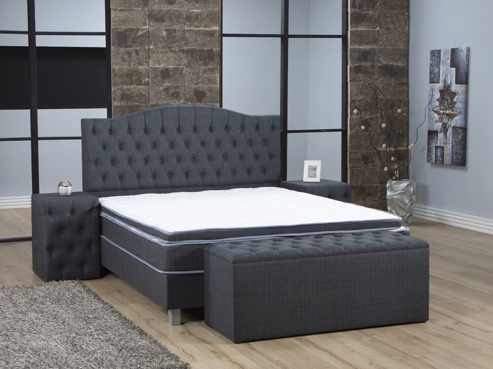 Boxspring Chesterfield | Goedkope boxspring Chesterfield nu in de aanbieding!