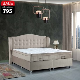Boxspring Dorian | Opbergbed