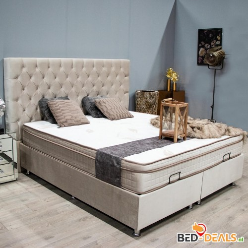Boxspring Scarlett | Opbergbed