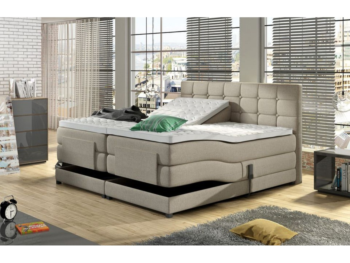 dubai elektrische boxspring kopen bed. Black Bedroom Furniture Sets. Home Design Ideas