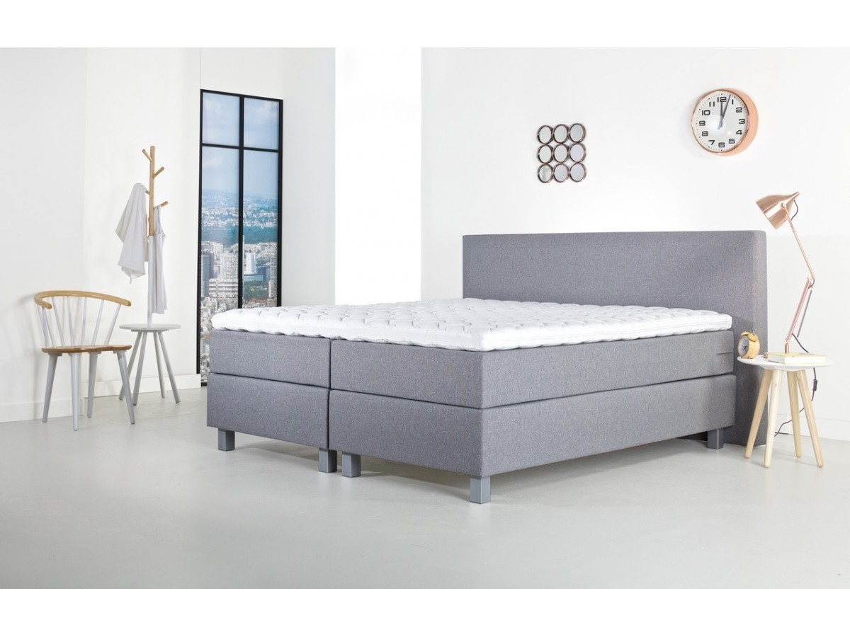goedkope boxspring 160x200 whkmpus own complete boxspring falun x denim blue with goedkope. Black Bedroom Furniture Sets. Home Design Ideas