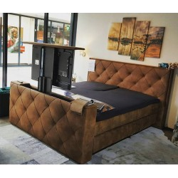 Boxspring met Tv Lift